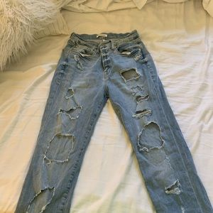 Ripped Good American Jeans